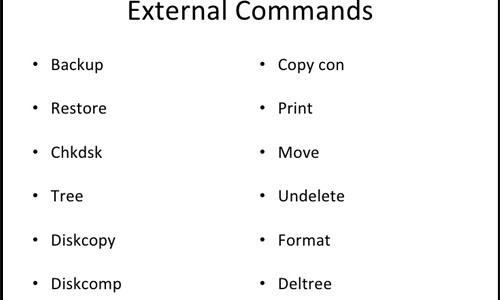external command