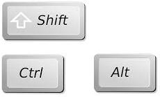 modifier key