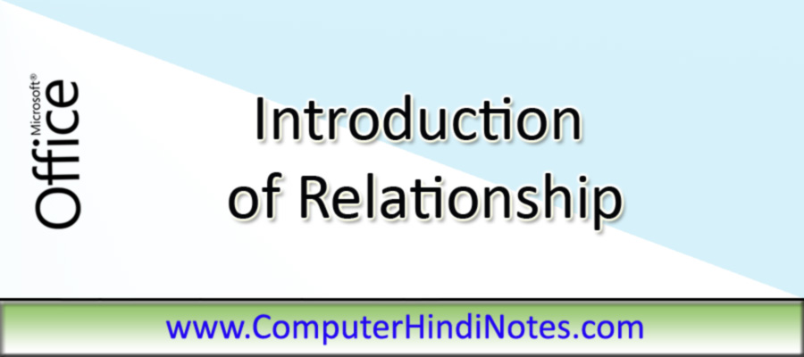 Introduction-of-Relationshi