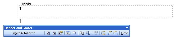 MS-Word-2003-Header-and-Footer-tool-bar