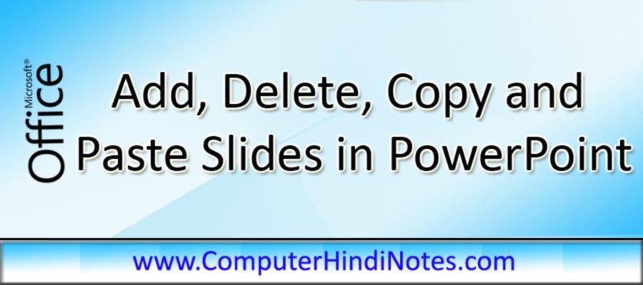 Add,-delete,-copy-and-paste