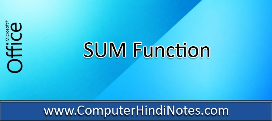 SUM-Function