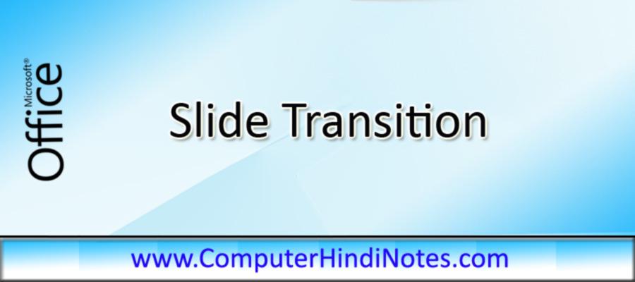Slide-Transition