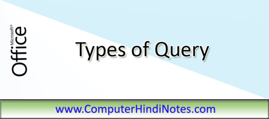 Types-of-query