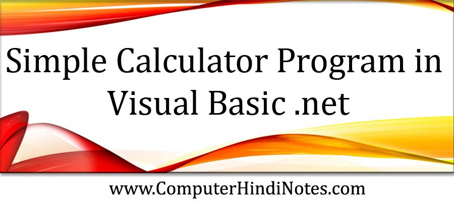 Simple-Calculator-Program-i