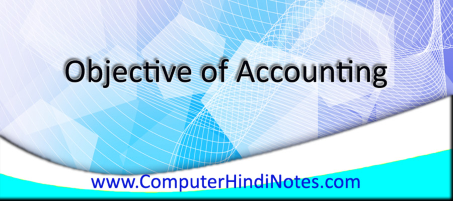 Objective-of-Accounting