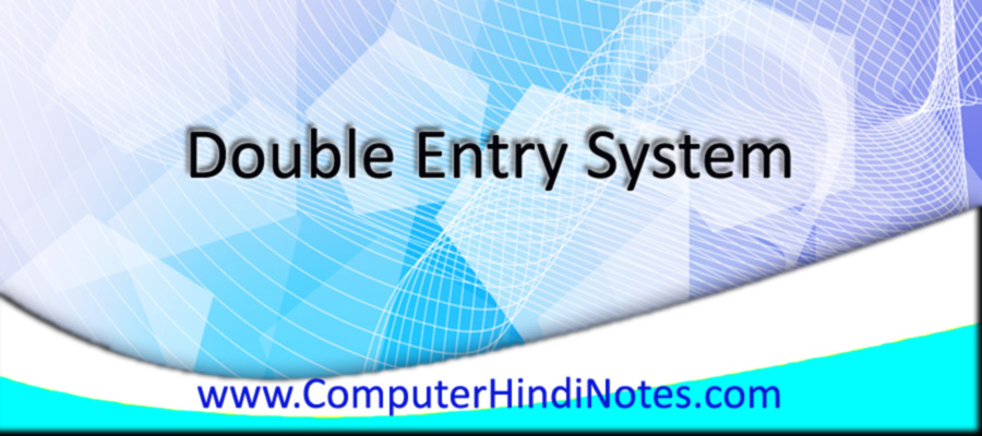 Double-Entry-System