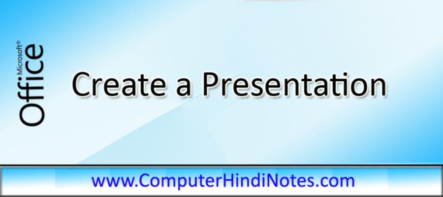 Create-a-Presentation
