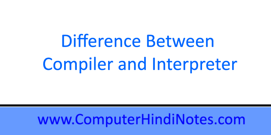 Difference-between-compiler