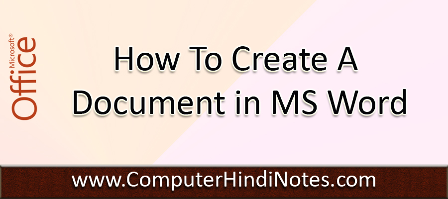 ms office notes in hindi pdf