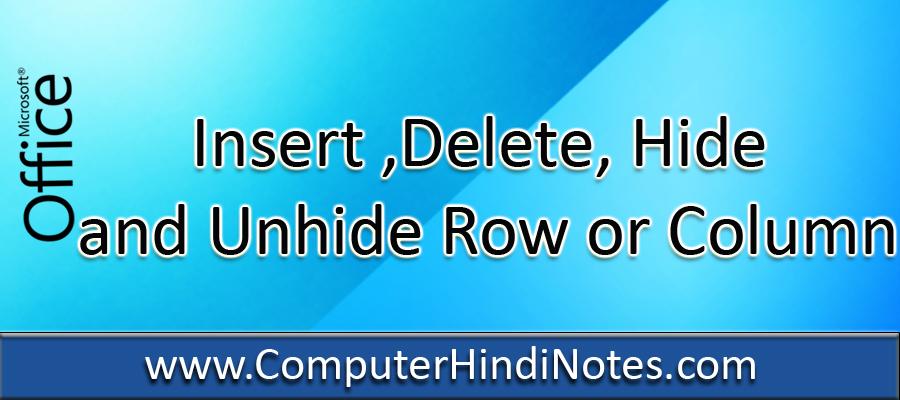 Insert-,Delete,-Hide-and-Un