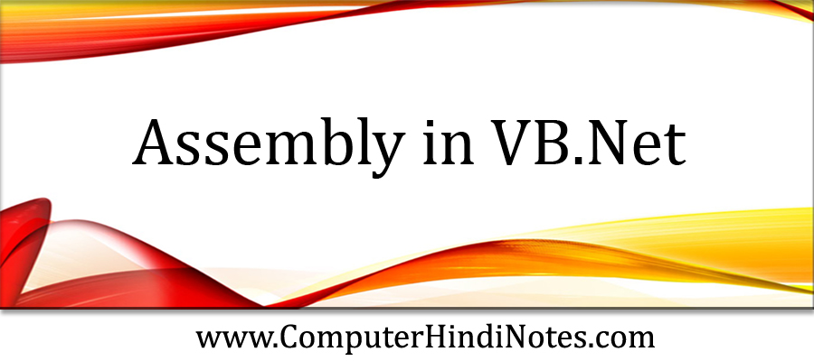 Assembly-in-VB.Net