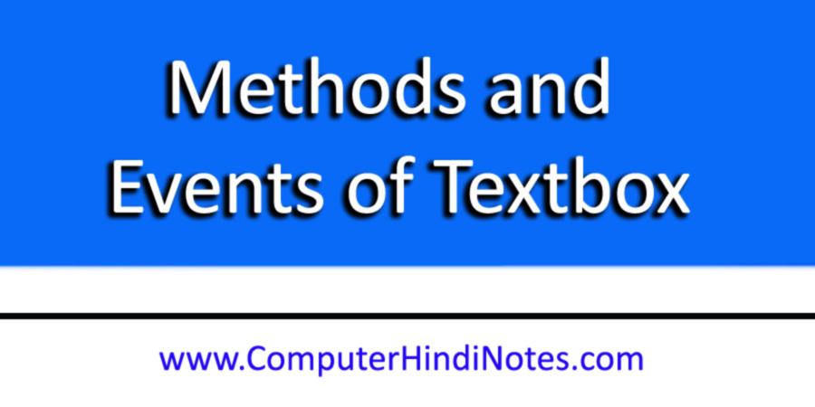 Methods-and-Events-of-Textb