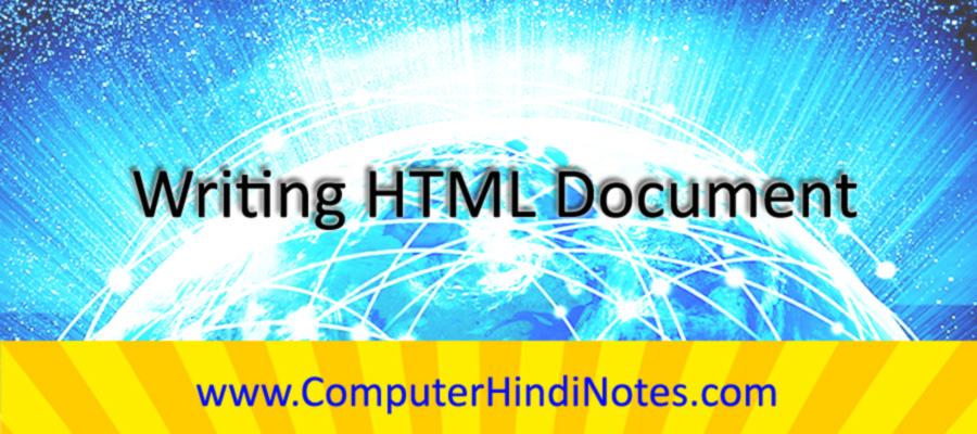 Writing-HTML-Document