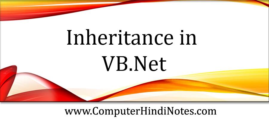 Inheritance-in-VB.Net