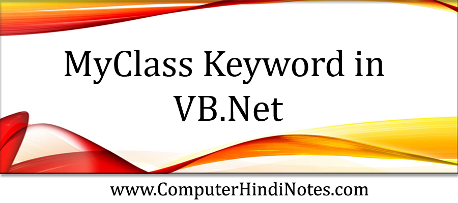 MyClass-Keyword-in-VB.Net