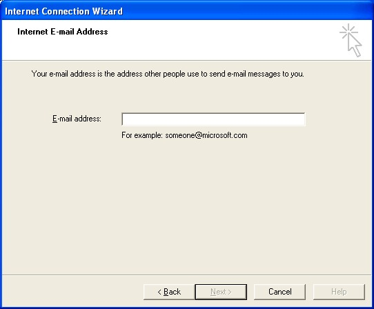 e mail address wizard