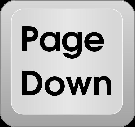 Page down key