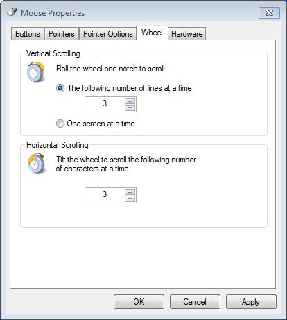 wheel tab