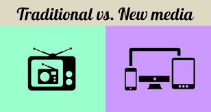 Transition from conventional media to digital media