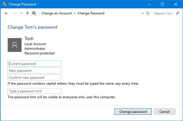 change-user-password