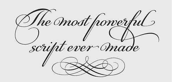 Ornamental fonts