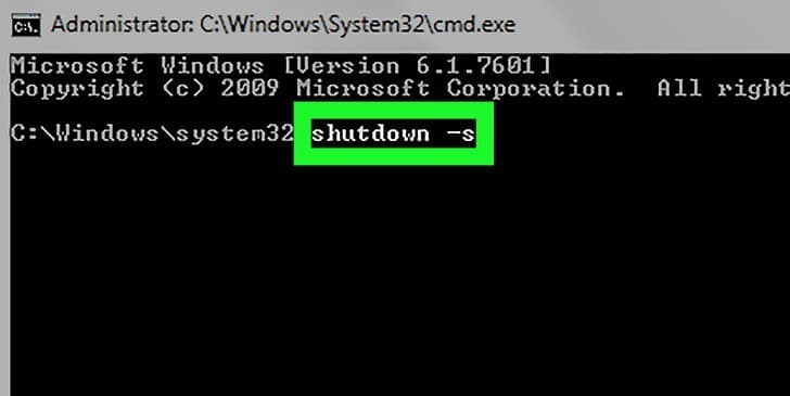 4. Shut Down from the Command Line