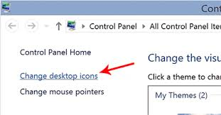 change desktop icon