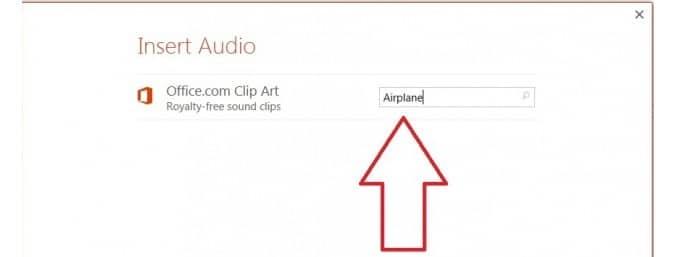 search audio