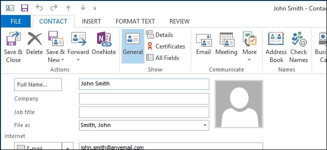 contact add list
