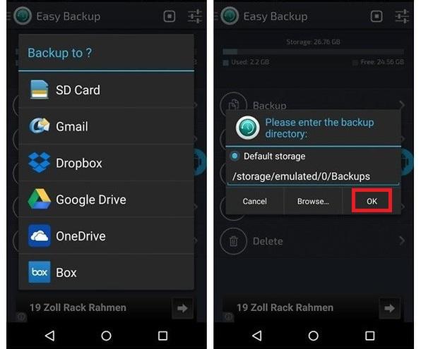 Easy Backup & Restore Apps