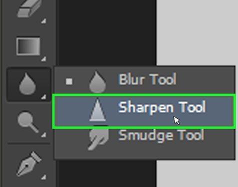 sharpen tool