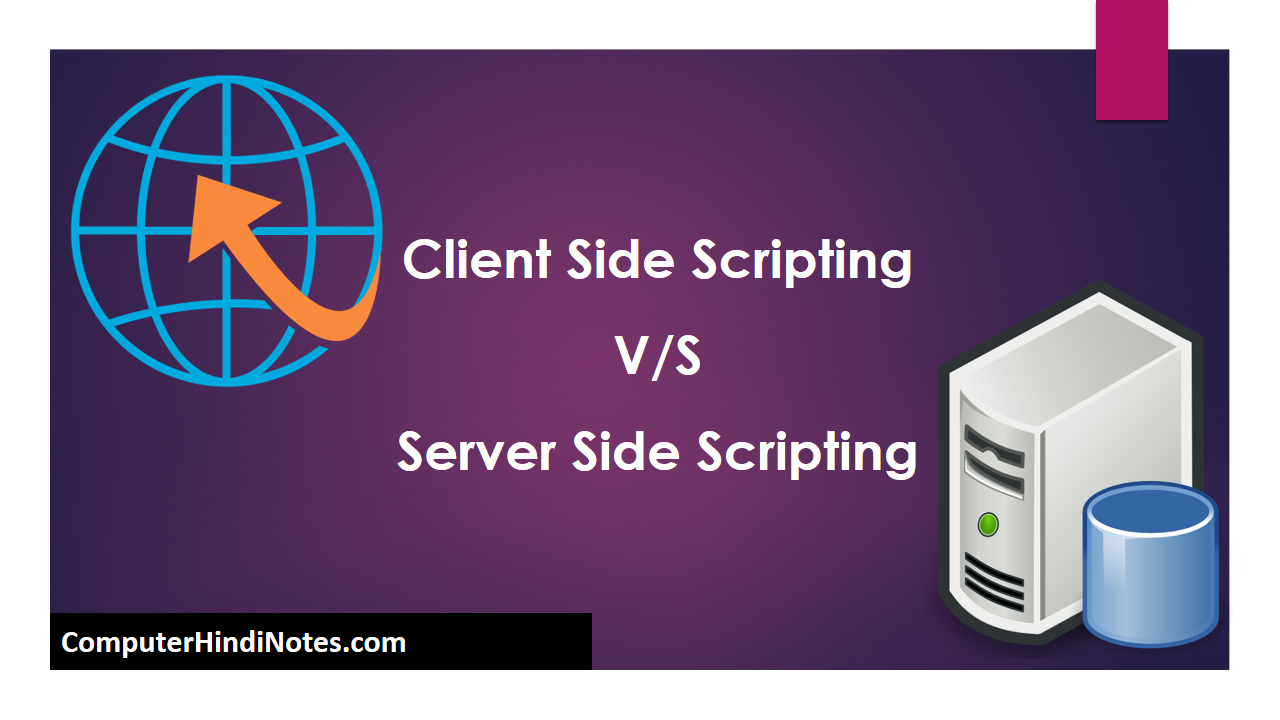 Client and Server side scripting