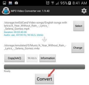 mp3 video converter2