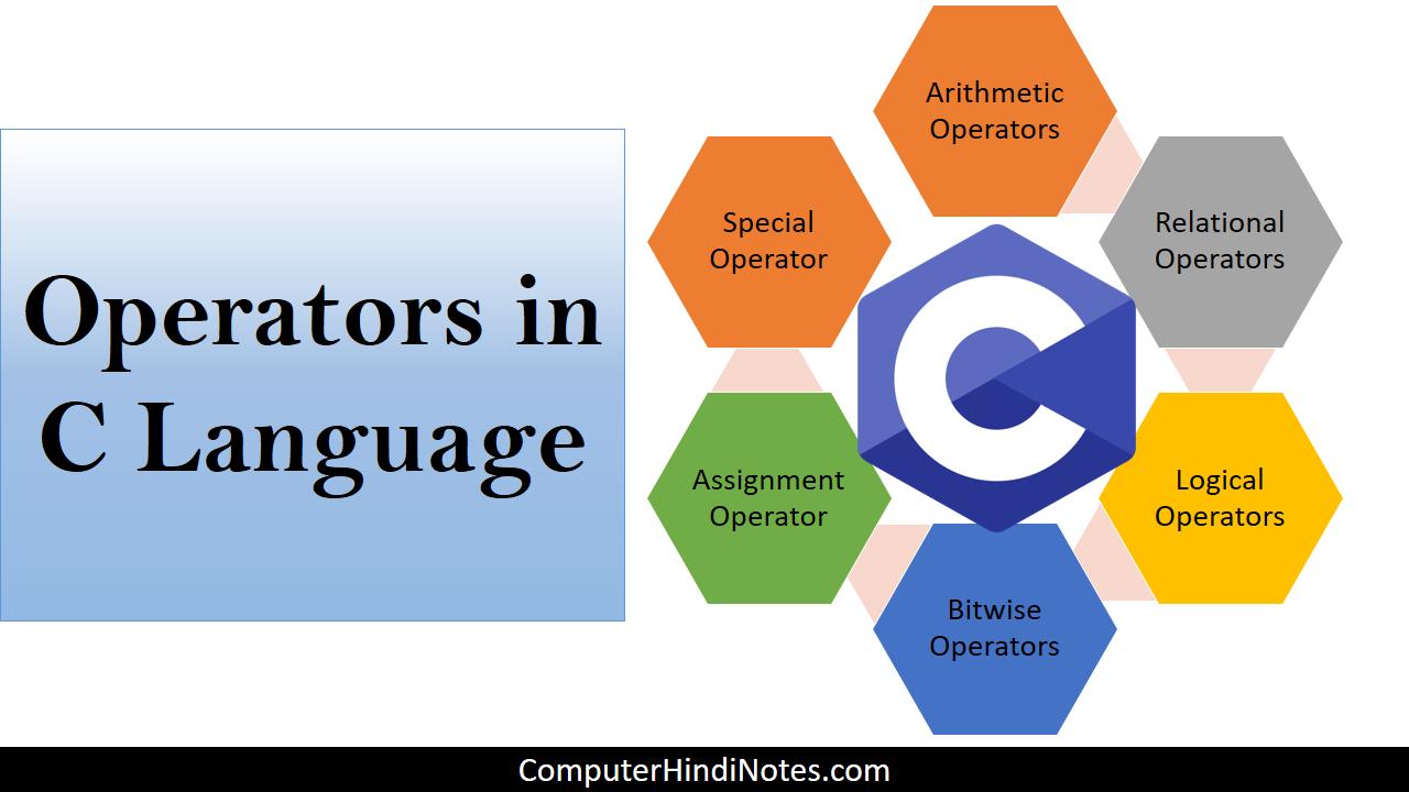 operators in C 2