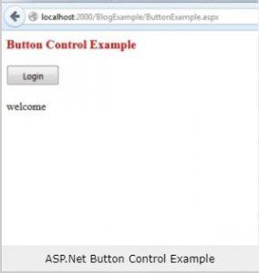 asp net button control example