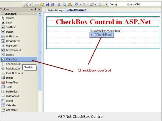 Checkbox control in ASP.NET |  Computer Hindi Notes