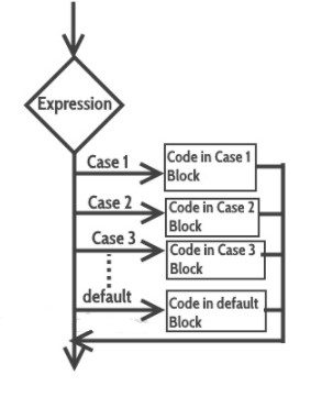 switch case flow diagram