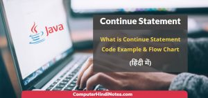 continue statement in java with code example